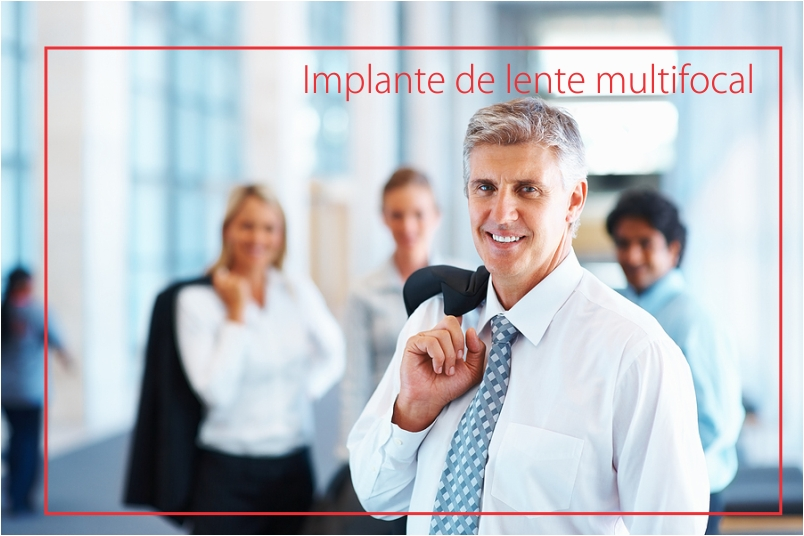 implante de lente multifocal